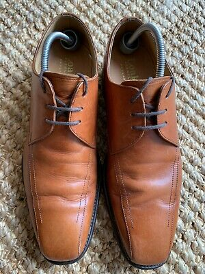 £34.99 • Buy Mens Loake  Derby Shoes Tan Brown Leather Gc Uk 6 F 100% Genuine Fast Post