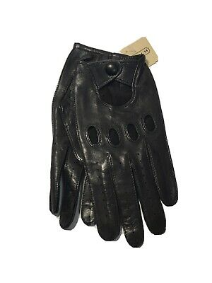 $44.99 • Buy Coach Mens Driving Leather Gloves Medium