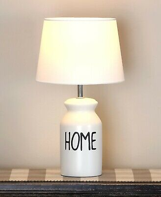 $41.87 • Buy Farmhouse Milk Can Table Lamp Country Home Decor - Home