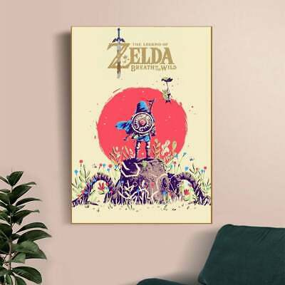 $18.99 • Buy The Legend Of Zelda Breath Of The Wild Game Poster - No Frame
