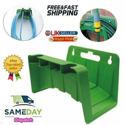 £5.99 • Buy Garden Hose Pipe Hanger Wall Mounted Cable Tidy Storage Shed Hose Reel Holder UK