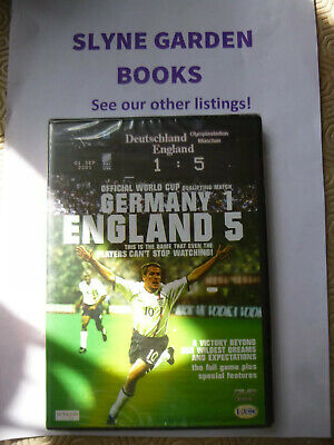 £1.55 • Buy NEW AND SEALED Germany 1 ENGLAND 5 World Cup Qualifier Football DVD  SOCCER