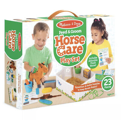 £15.99 • Buy Melissa & Doug Horse Care Playset, Pretend Play, Toy, Accessories, Age 3 Years +