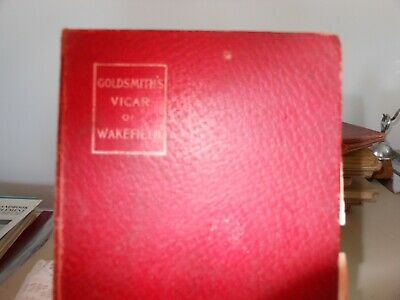 $1 • Buy 1902 The Vicar Of Wakefield By Oliver Goldsmith Macmillan's Pocket Clasics