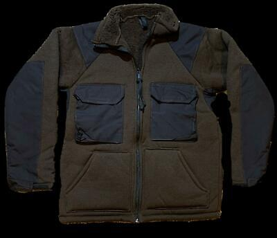 $34.95 • Buy Us Military Cold Weather Fleece Lined Shirt Bear Jacket X-large New