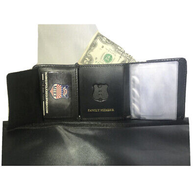 £21.75 • Buy New York City Police Officer Family Member Min Badge Credit Cards/ID  Wallet