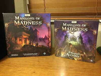 £290.87 • Buy Mansions Of Madness Base Board Game + Forbidden Alchemy (New In Shrink) OOP RARE