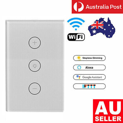 AU37.99 • Buy WIFI Smart Mobile Ceiling Fan Wall Switch Touch Panel For Alexa/Google Home AU