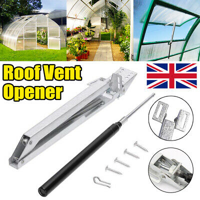 £14.49 • Buy Greenhouse Window Opener Double Spring Temperature Automatic Vent Control Opener