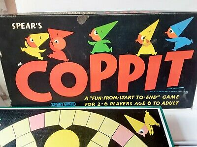£13.99 • Buy Vintage Coppit Board Game 1964 By Spears Games