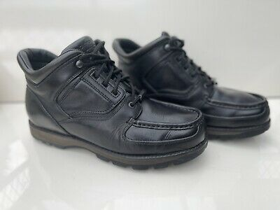 £60 • Buy Rockport XCS Mens Black Boot Size Uk 9W Made In Portugal Rare Boots Waterproof