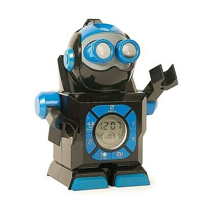 £9.99 • Buy Chronobot Robot Projection Retro Alarm Clock Ceiling Wall Time Projector Bedroom