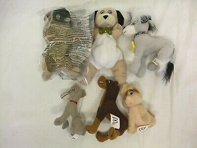 £4.50 • Buy McDonalds Happy Meal Toys X 6 / 102 Dalmations X 3 & Lady & The Tramp Dogs X 3