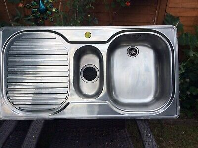 £40 • Buy Franke 1.5 Stainless Steel Kitchen Sink  Used Preowned. Collection Only.