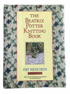 £5 • Buy The Beatrix Potter Knitting Book By Menchini, Pat Hardback Book Jumpers Clothes