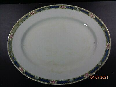 £9.09 • Buy Antique Wedgwood Imperial Porcelain Tunstall Meat Platter Florence
