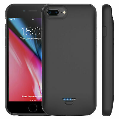 £16.38 • Buy Ultra Slim Battery Charger Case 12000mAh For IPhone 6 7 8 Plus Power Charging UK
