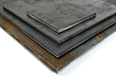 £4.79 • Buy Steel SHEET 4.0 & 5.0mm Thick Mild Steel Plate Guillotine Specials Made To Order