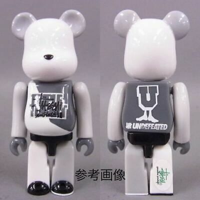 $169.55 • Buy Be Rbrick Undefeated Stussy Hectic Triple Threat 100 Bearbrick Andy Feeted