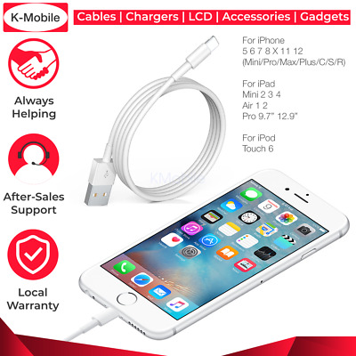 AU2.89 • Buy USB Charging Phone Cable Data Cord Charger For IPhone 12 11 X 8 7 6 Plus Pro Max