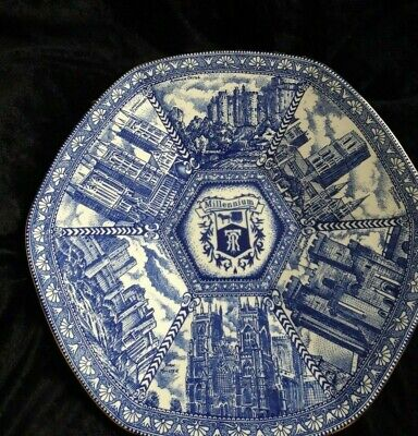 £2.99 • Buy Ringtons Millennium 2000 Collectors Plate By Wade 10