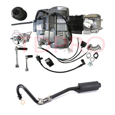 £399.27 • Buy Lifan 140cc Engine Motor + Exhaust For Honda CT70 Coolster Apollo 125cc Pit Bike