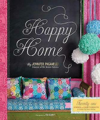£6.99 • Buy Happy Home 21 Sewing & Craft Projects By Jennifer Paganelli (Hardcover) Book
