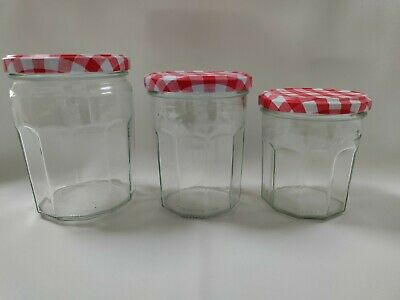 £2 • Buy Bonne Maman Jam Jars, Small, Med, Large With Red . Multi Buy Discount