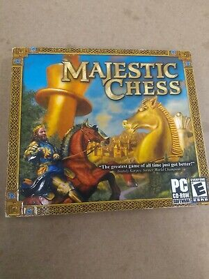 $9.99 • Buy Hoyle Majestic Chess - PC CD Computer Game Jewel Case Complete Windows 98 ME XP