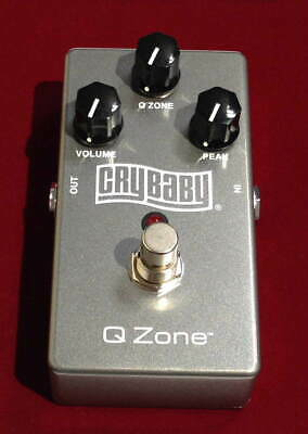$ CDN478.36 • Buy Used MXR QZ1 Cry Baby Q-Zone Cocked Wah Guitar Effects Pedal From Japan Tasted