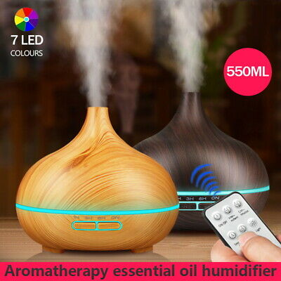 AU23.95 • Buy 7 LED Aromatherapy Diffuser Aroma Essential Oil Ultrasonic Air Humidifier Mist