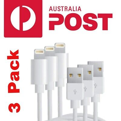 AU7.55 • Buy 3X Fast Charging USB Charger Cord Cable For Apple IPhone 8 X 11 12 Pro Plus IPad