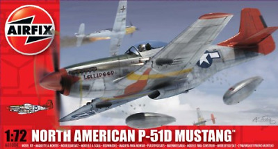 £8.60 • Buy Airfix A01004 North American P-51D Mustang 1:72 Scale Series 1 Plastic Model Kit
