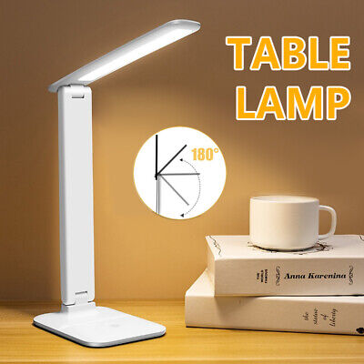 AU14.50 • Buy Touch LED Desk Lamp Bedside Study Reading Table Light USB Ports Dimmable AU