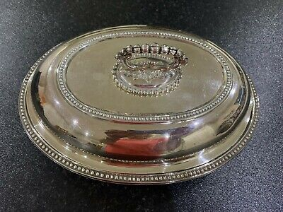 £34.99 • Buy Mappin & Webb Silver Plated Lidded Entree Serving Dish