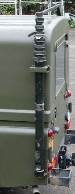 £245 • Buy Military Land Rover Wolf 8mtr RACAL ANTENNA MAST ASSY  PUSH UP MAST ( PU12)