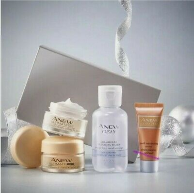 £10.98 • Buy Avon ANEW Ultimate Firmer And Smoother Skin Regime Set
