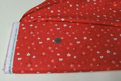 $9.77 • Buy Michael Miller Quilt-craft Fabric WOODLAND FLORAL Red 2 Yds (dc-9609)Sweet Gnome