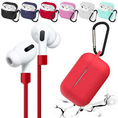 AU6.69 • Buy AirPods Silicone Case + Keychain Protective Cover Skin For Apple AirPod Pro 3