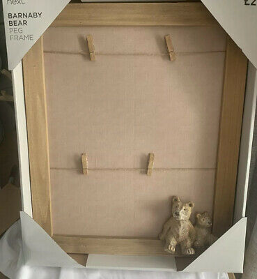 £19.99 • Buy Next Barnaby Bear Peg Large Photo Picture Frame Bnwts