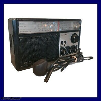 £24.99 • Buy Vintage Philips 4 Band 780 Radio 1970's Good Condition For Age Fully Working