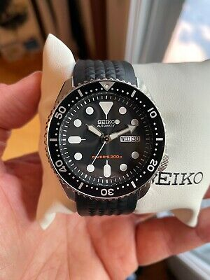 $ CDN449.99 • Buy Seiko SKX007K2 Dive Watch On Jubilee + Uncle Seiko Curved Strap - New Pics!