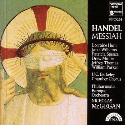 £11.88 • Buy William Parker - Handel: Messiah - William Parker CD D4VG The Cheap Fast Free