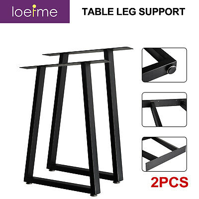£28.99 • Buy 2PCSndustrial Metal Trapezium Table Legs Dining/Bench/Office/Desk/Chair Legs