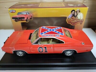 £199.99 • Buy Dodge Charger Dukes Of Hazzard General Lee  1:18 Scale Boxed Joyride Ertl