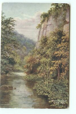 £2.99 • Buy Postcard Millers Dale Chee Tor Salmon Colour Printed Unposted GH