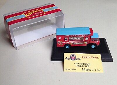 £5.99 • Buy OXFORD DIECAST - 1:76 Scale   Chipperfields Circus  BEDFORD TK MOBILE SHOP - MIB