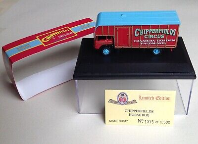 £8.99 • Buy OXFORD DIECAST - 1:76 Scale,   Chipperfields Circus  BEDFORD TK HORSEBOX - MIB