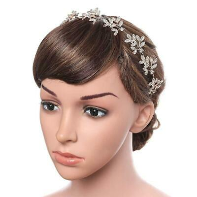£4.34 • Buy Bridesmaid Hair Band Pearl Headdress Suitable For Flower Girl Wedding Party