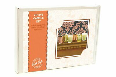 £14 • Buy Peak Dale Candle Making Kit - Soy Wax Votive Candles Makes 6